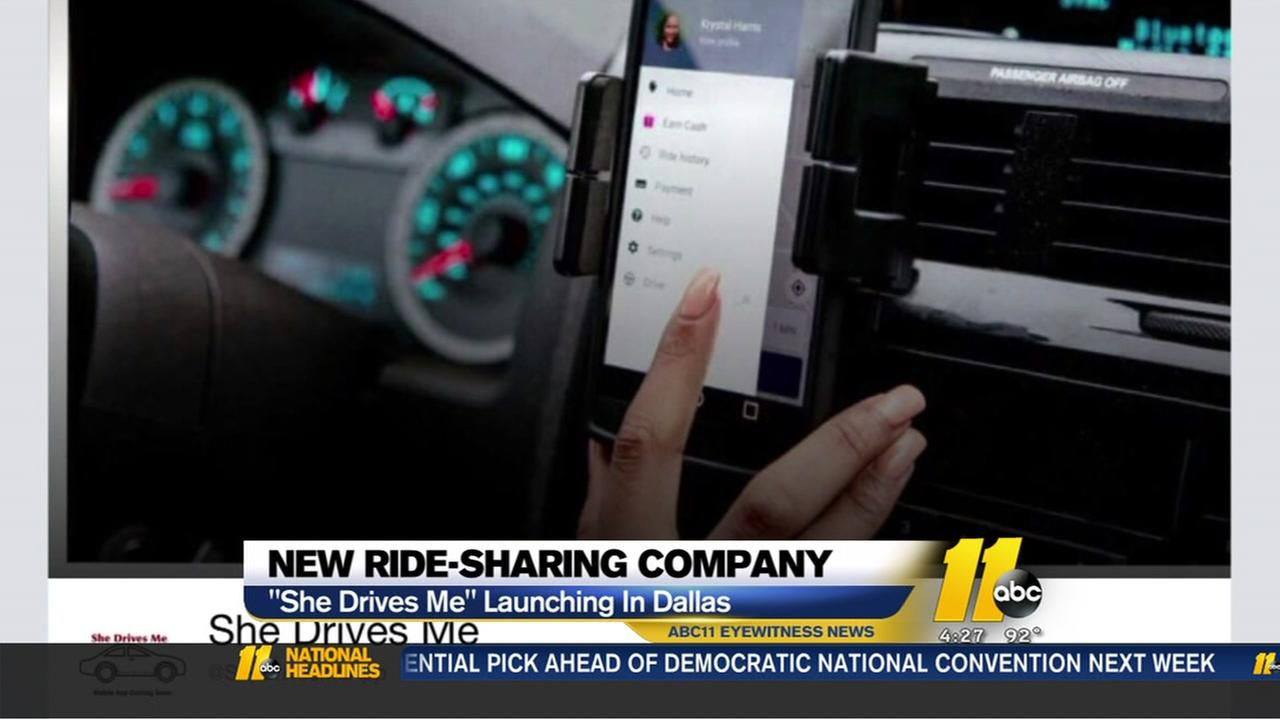 New ride sharing company for women