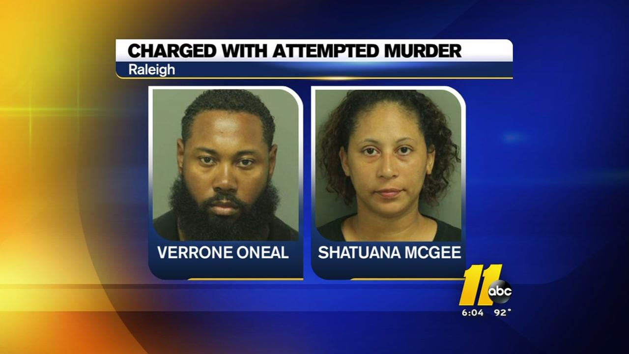 Couple charged with attempted murder