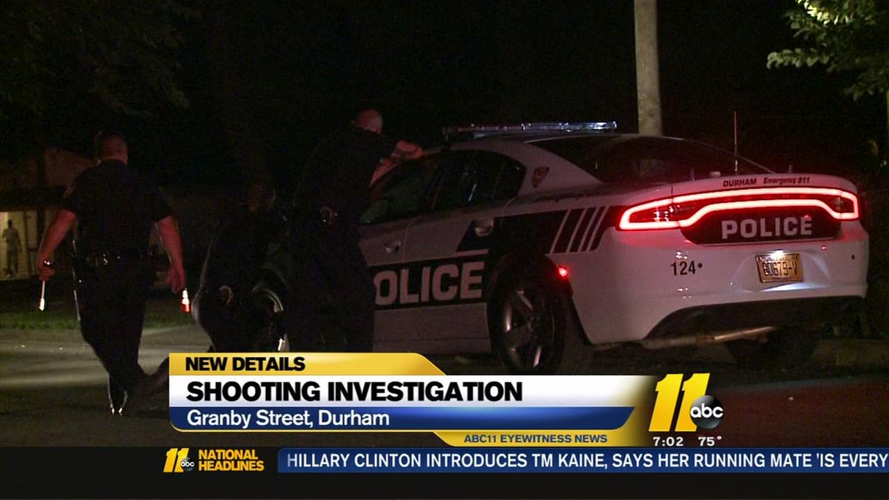 Man arrested after shooting, standoff in Durham
