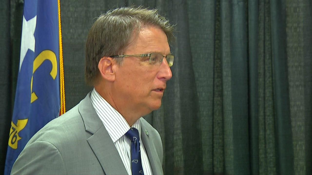 Pat McCrory says NC used as pawn to raise funds for Democrats