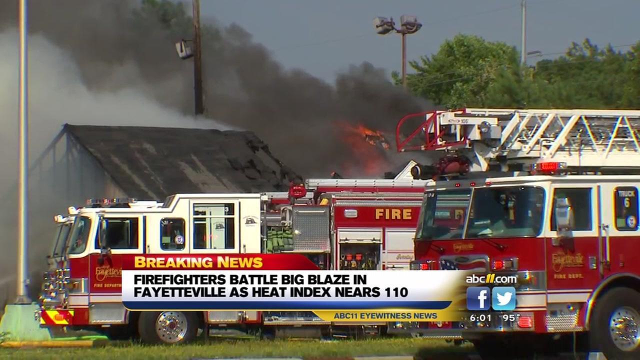 Fayetteville fire