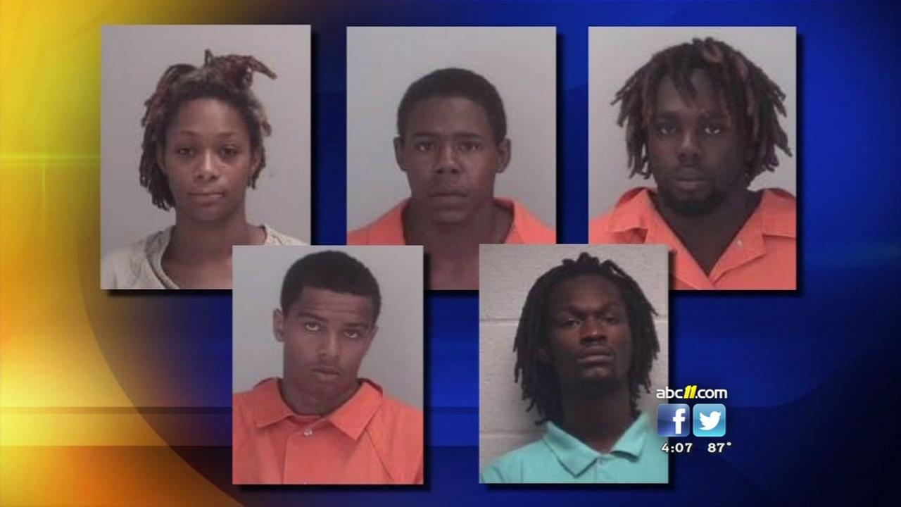 5 charged in fatal Chapel Hill shooting