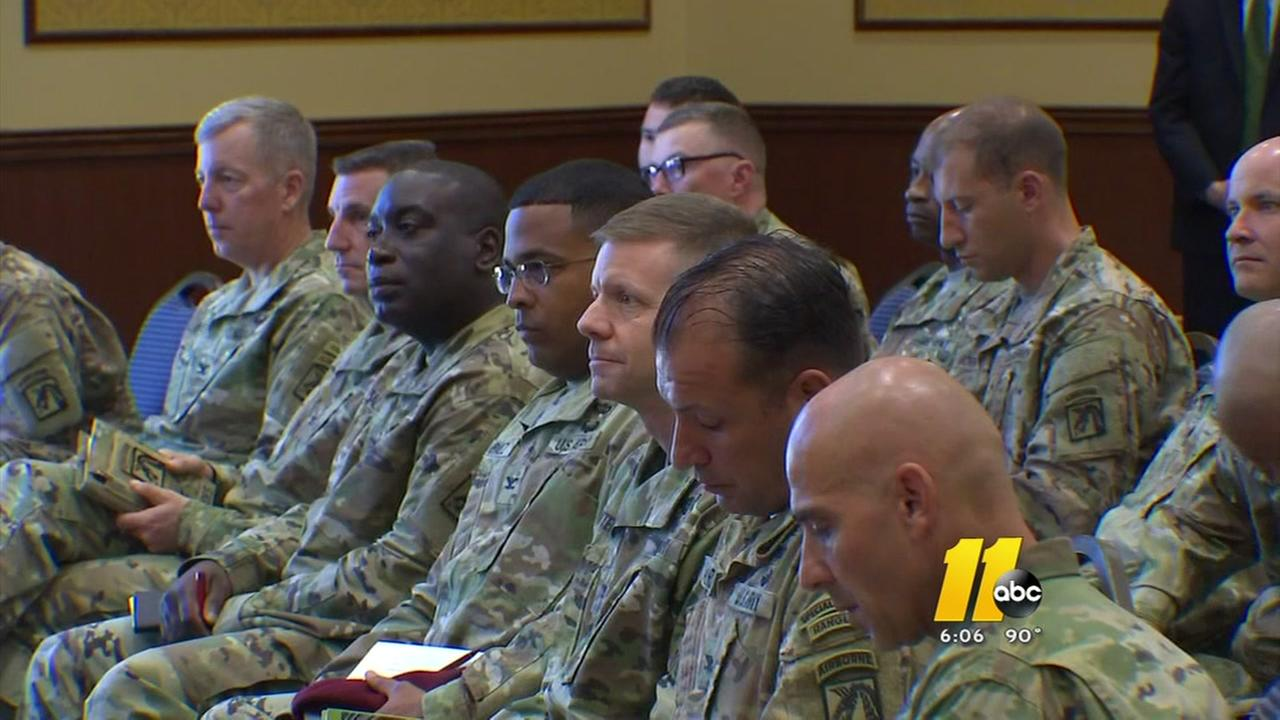Secretery of Defense visits Fort Bragg