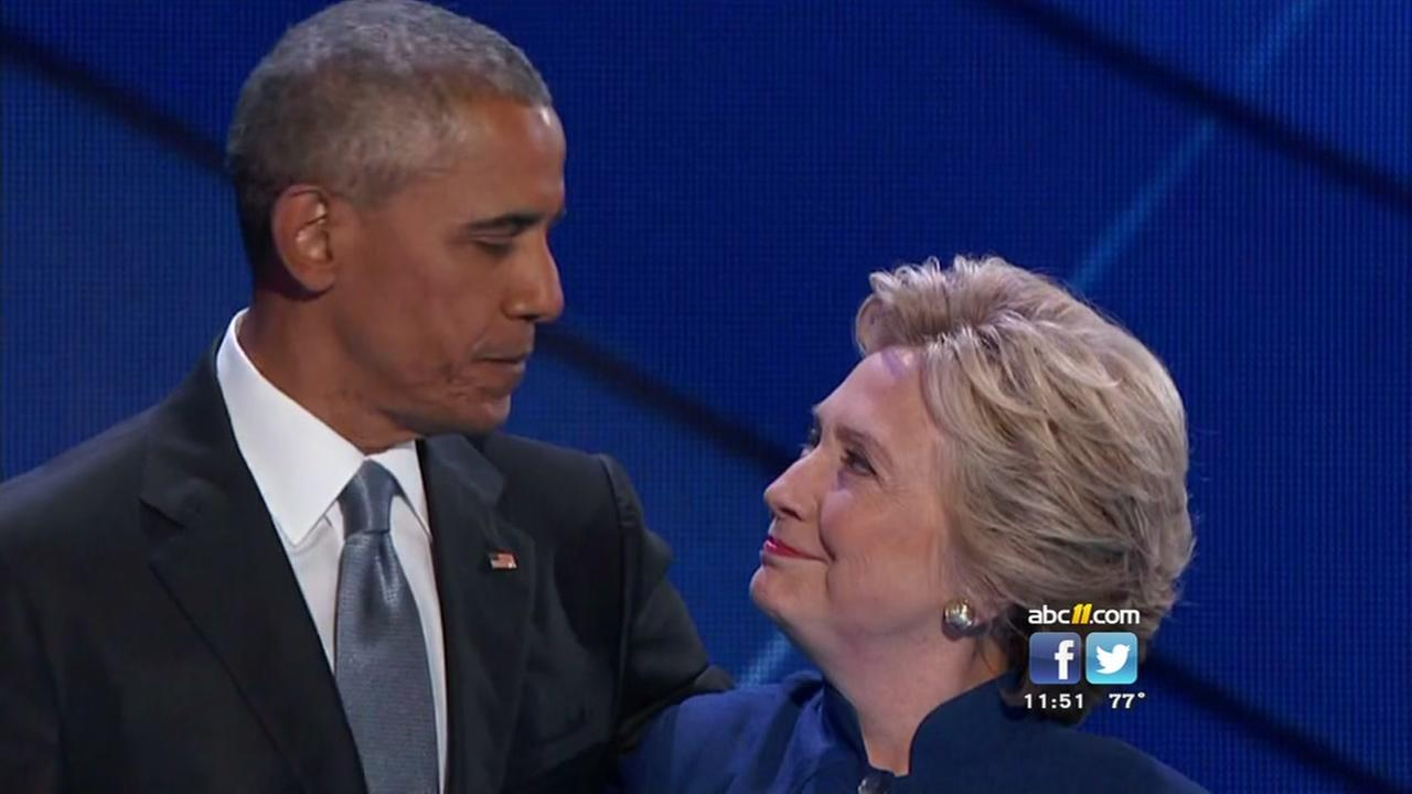 Obama speaks at DNC