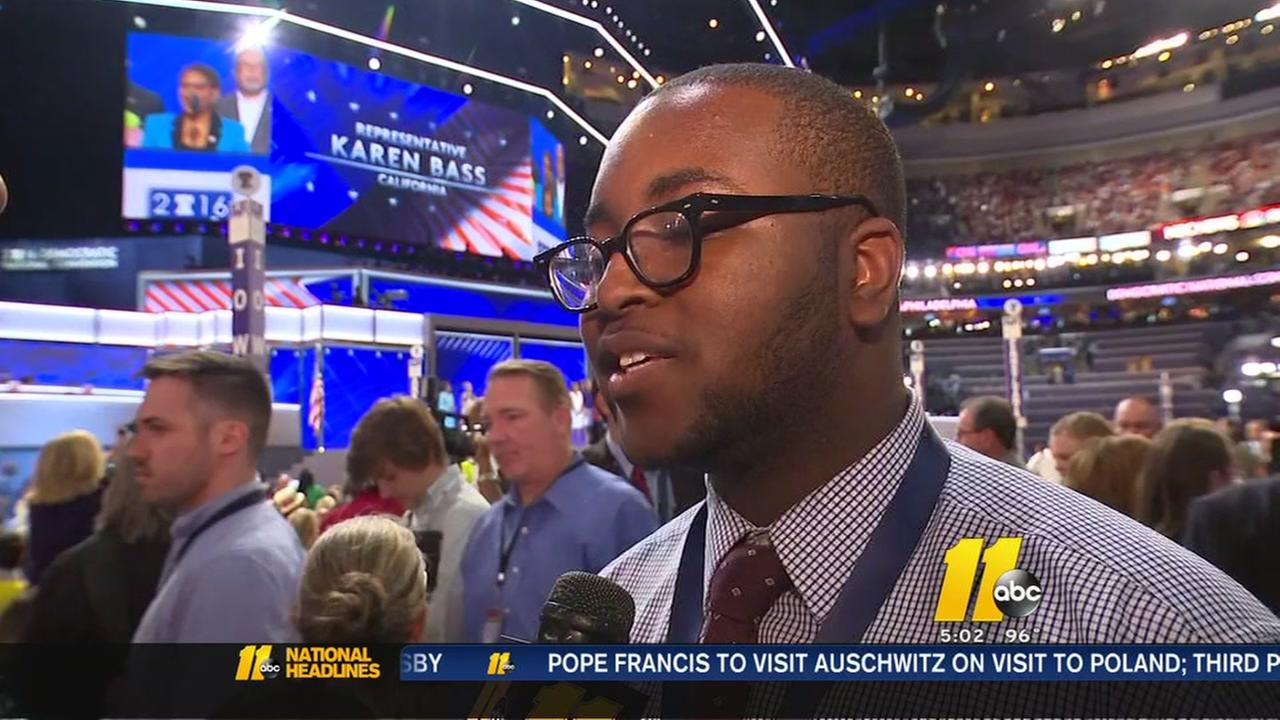 Youngest, oldest delegates at DNC