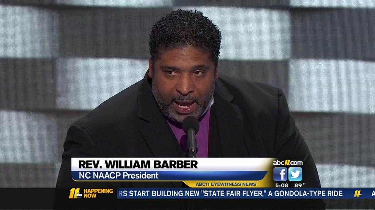 Barbers big speech