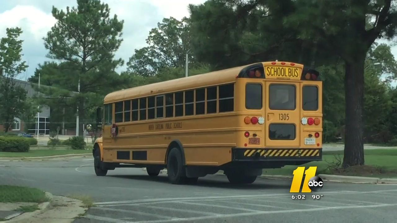 Wake School buses