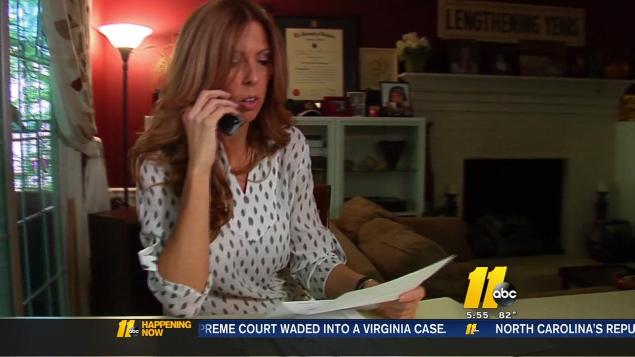 Woman turns the tables on identity thief