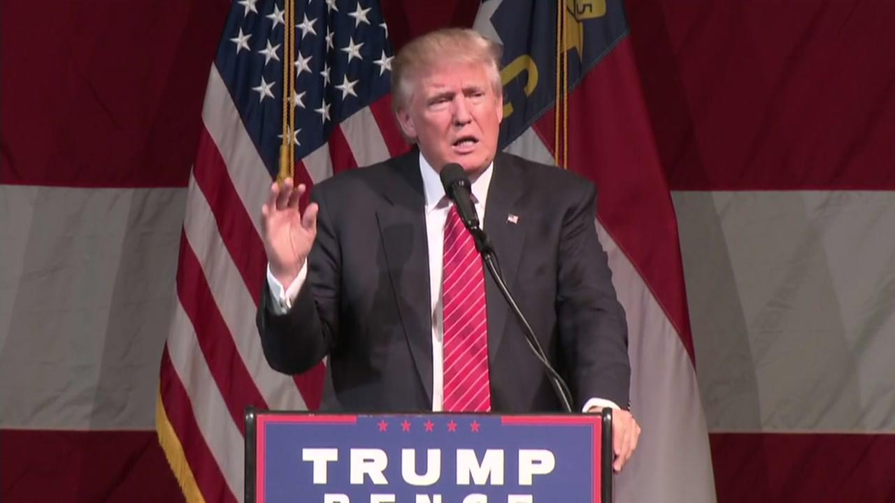 Donald Trump speech in Fayetteville