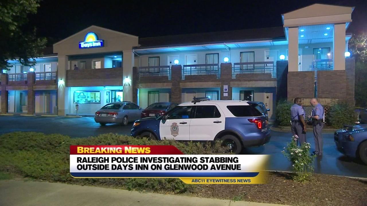 Raleigh police investigating stabbing outside hotel