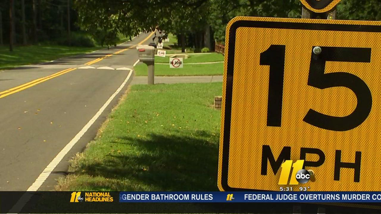 Firefighters concerned about speed humps