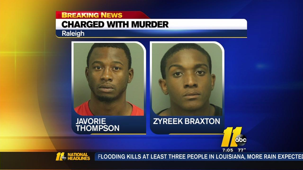 Teens charged with murder in Raleigh