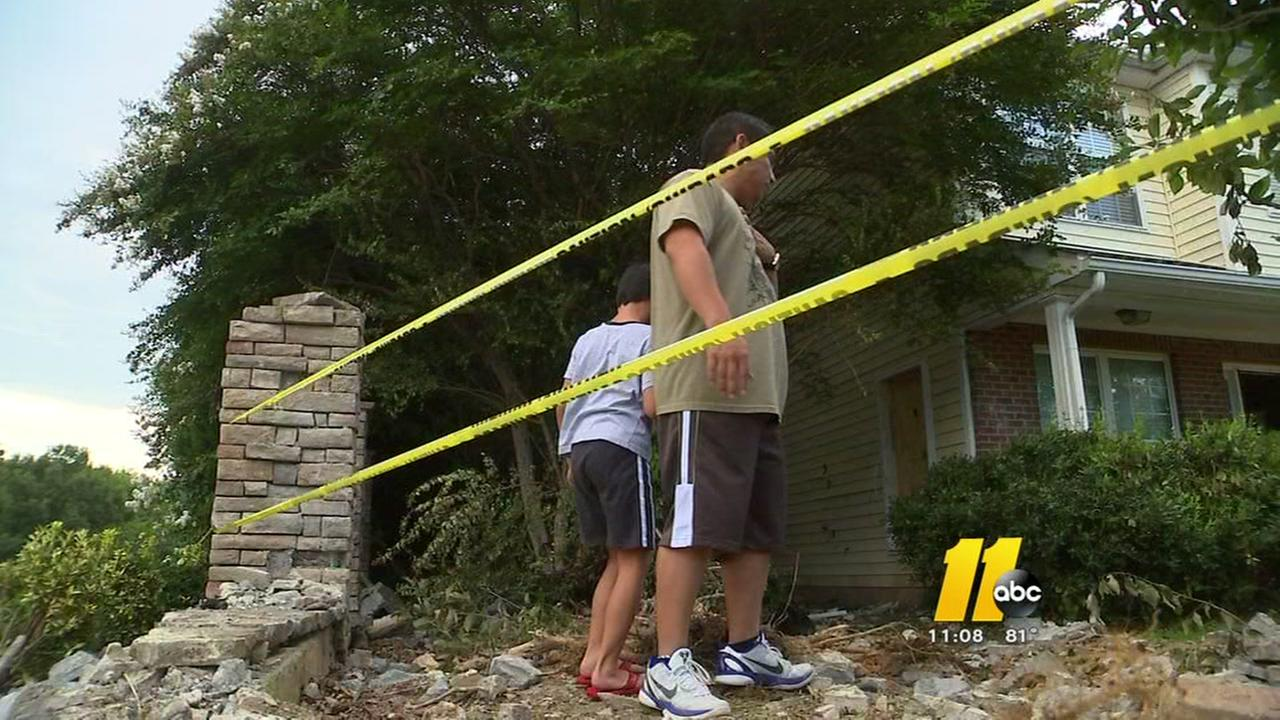 Raleigh homeowner fed up after house hit 6th time by car