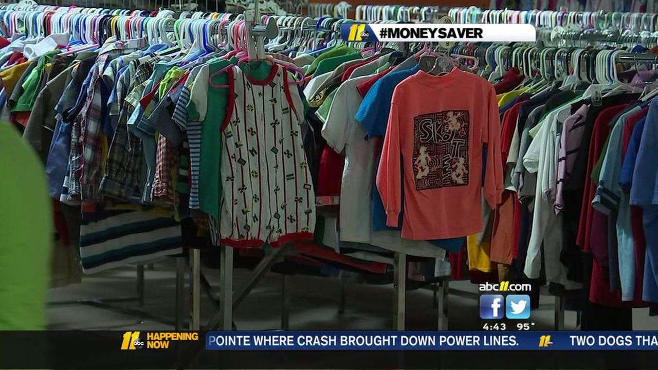 Cary thrift store holding massive back-to-school sale