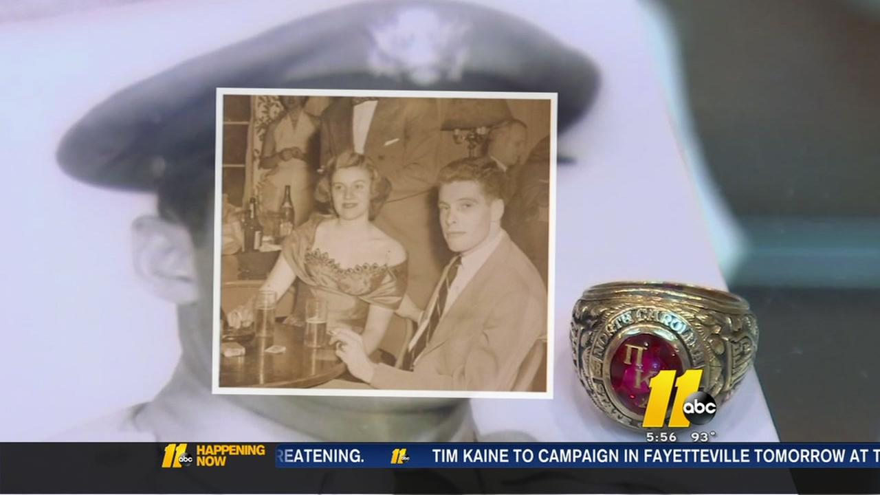 Fathers lost class ring returned to Cary woman