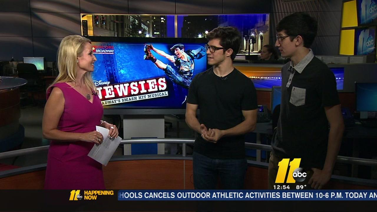 Newsies comes to DPAC