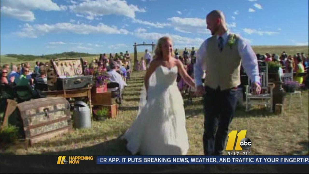 colorado bride maid of honor escape fire just before