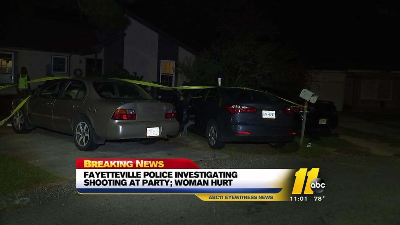 Fayetteville police investigate womans shooting
