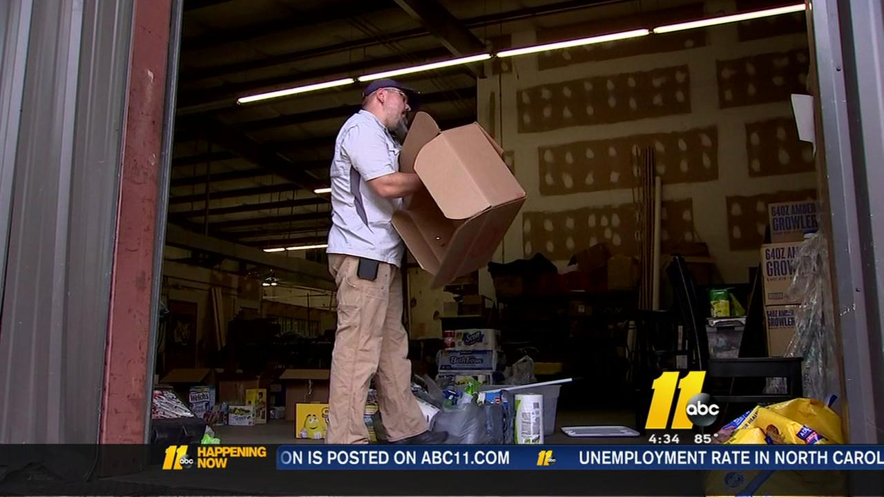 Raleigh man seeks help for Louisiana