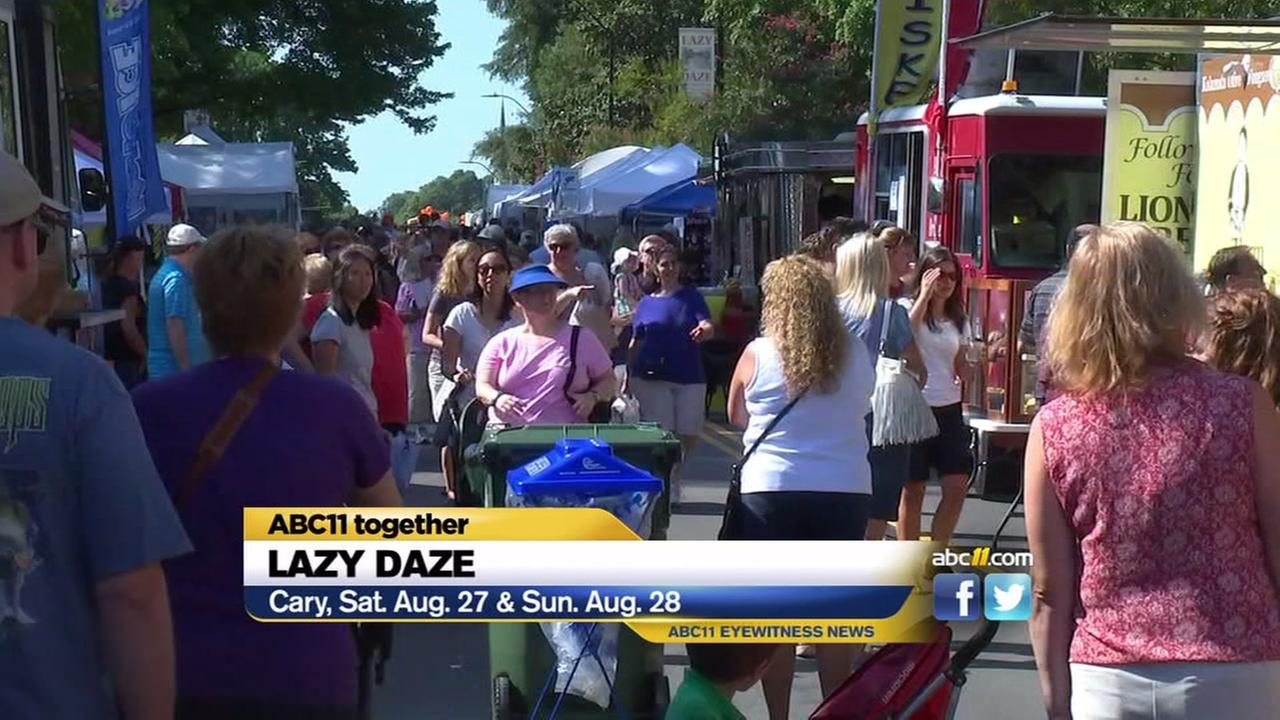 Lazy Daze returns to Cary