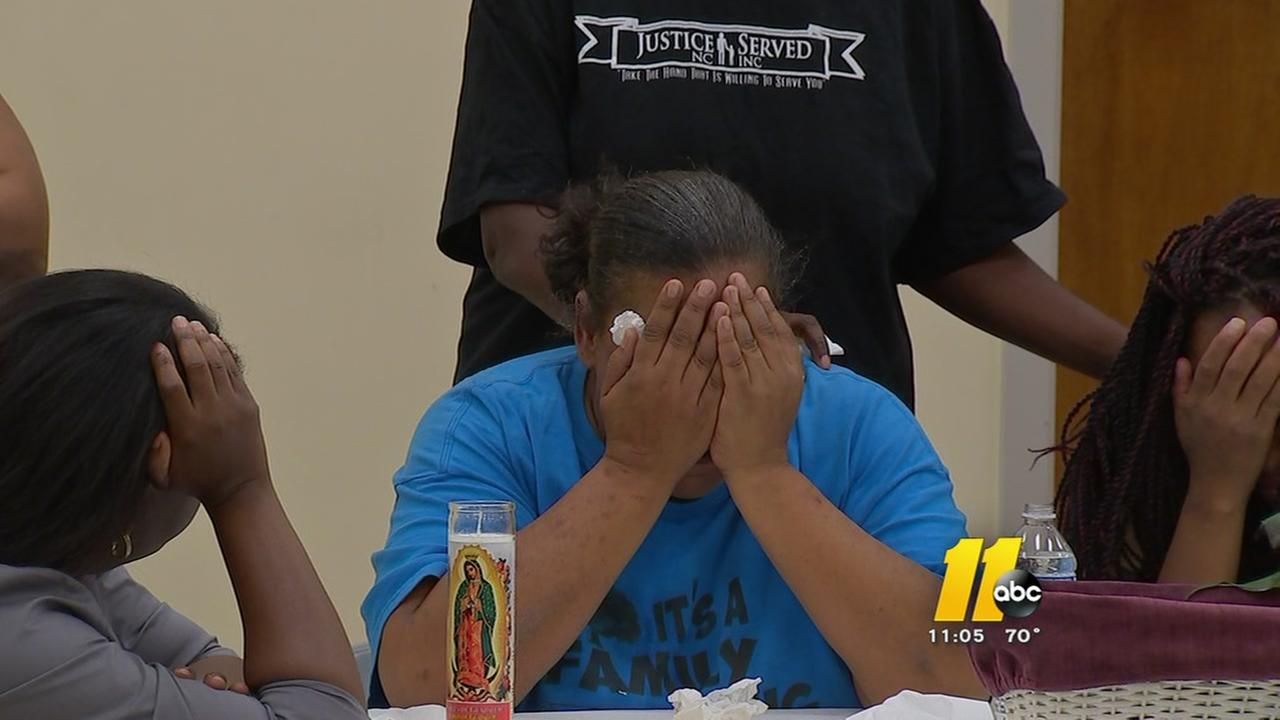 Grieving Raleigh mothers plead for end to senseless violence