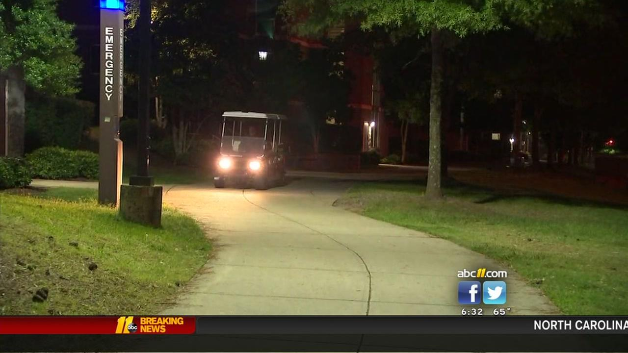 Armed robbers hold up two people inside NCCU dorm