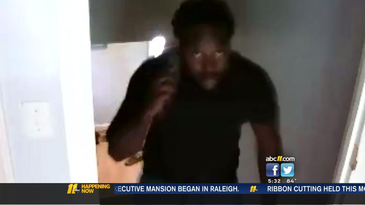 Surveillance video shows Durham burglary