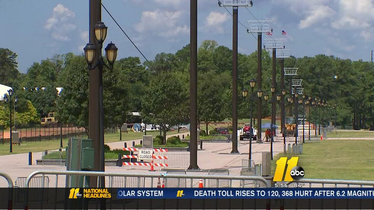 Chair lifts installed for NC State Fair