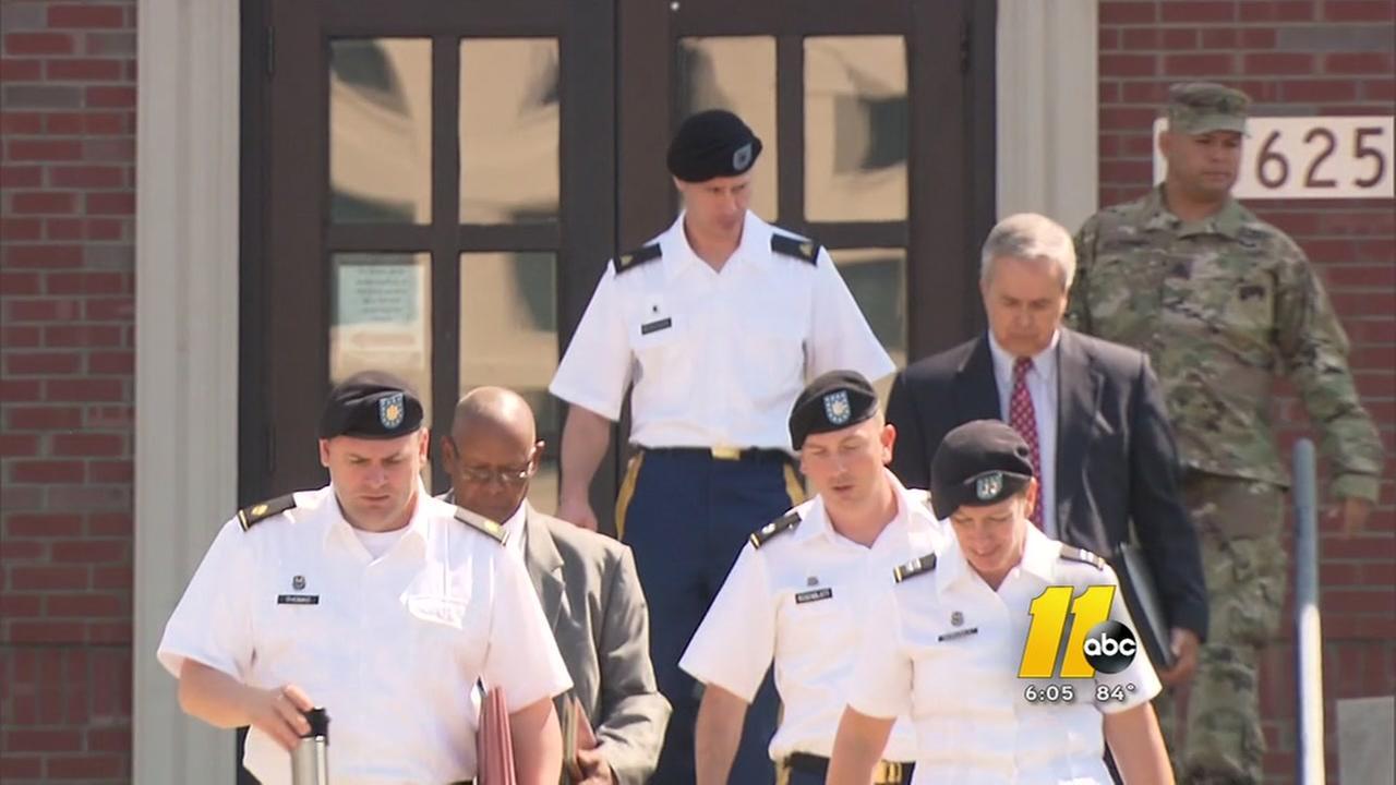 Gen. Robert B. Abrams testifies in Bergdahl case