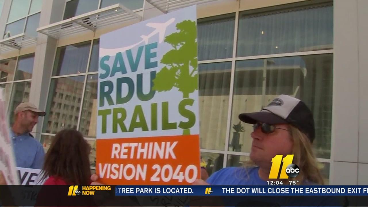 RDU expansion protest