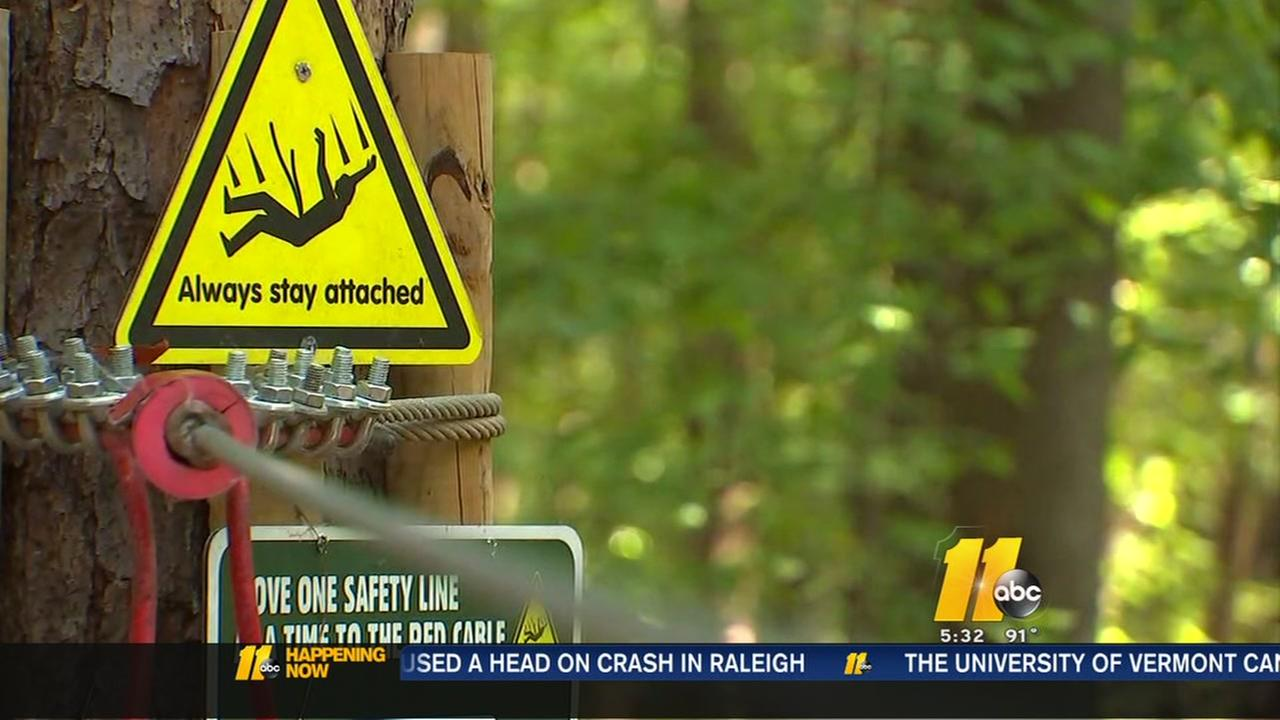 Locals reminded of zip line safety