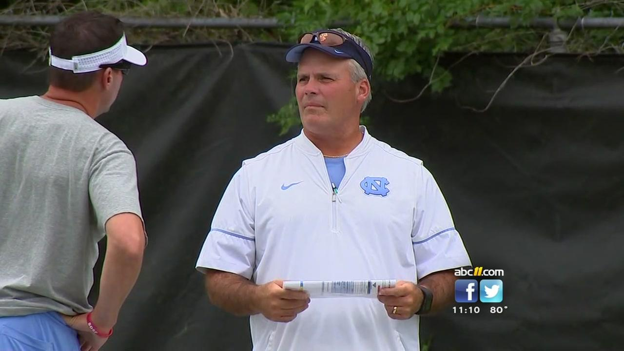 Tar Heels move to distance themselves from Tim Beckman