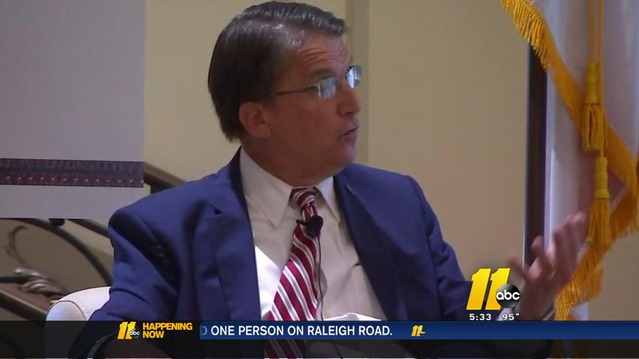 Gov. Pat McCrory discusses HB2