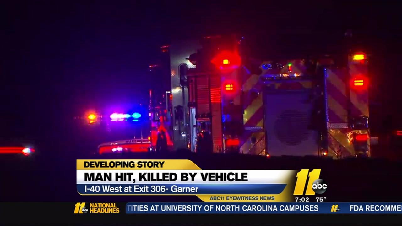 Pedestrian killed on I40 West