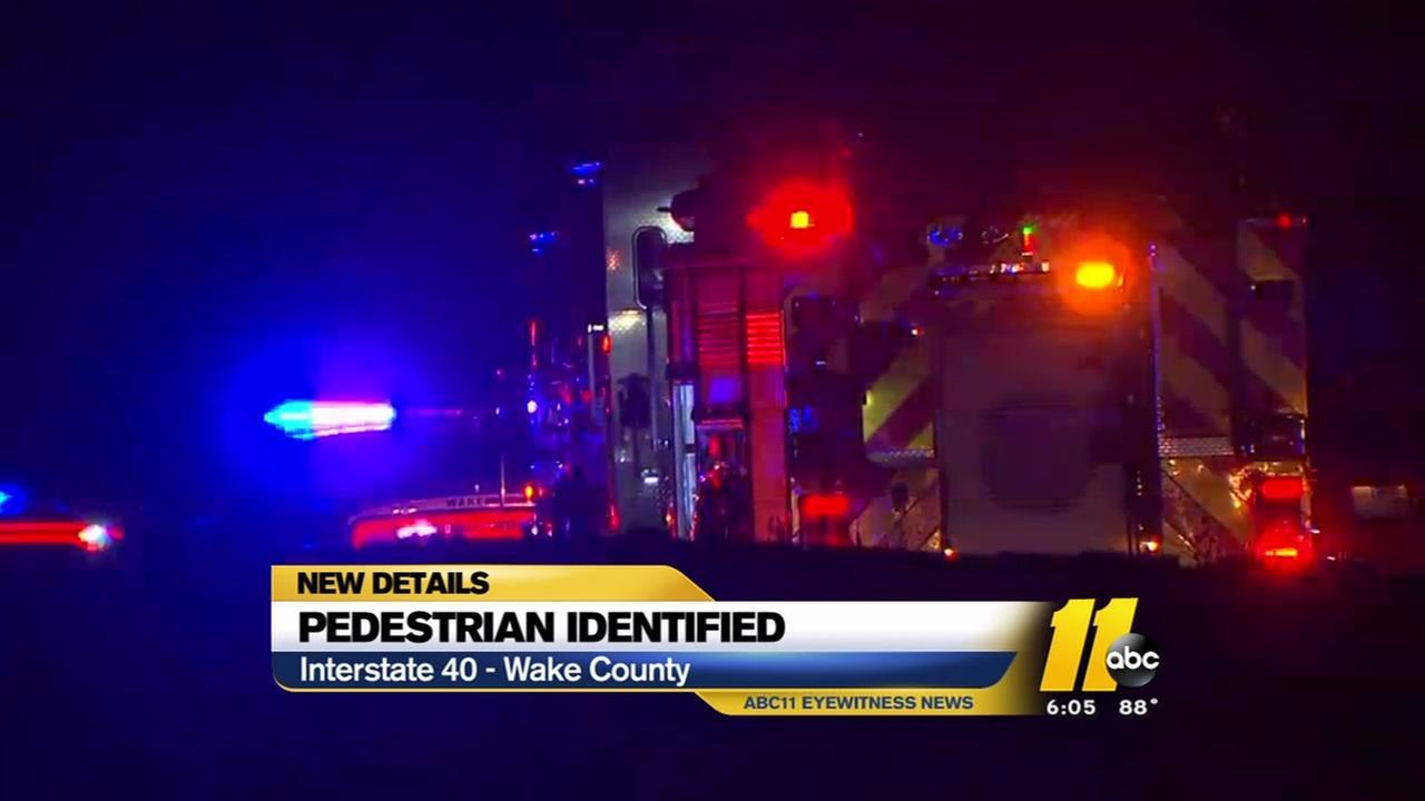 Pedestrian killed on I-40 identified