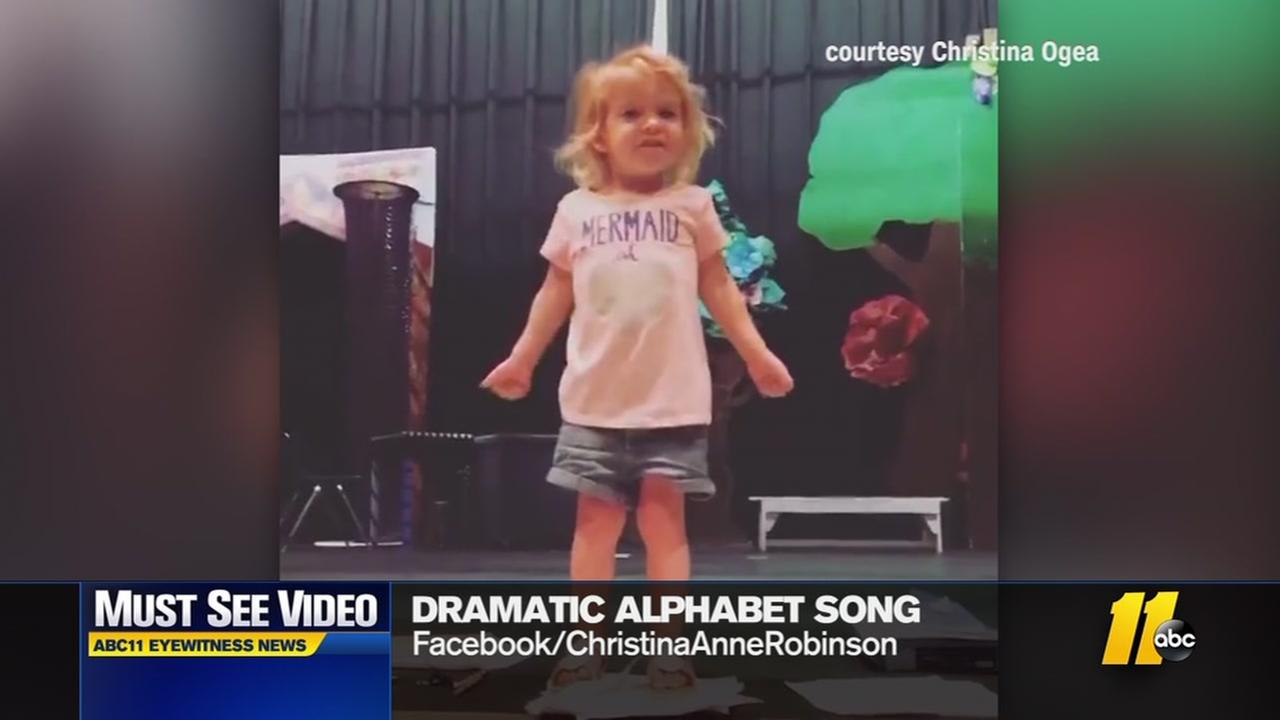 Toddler song goes viral