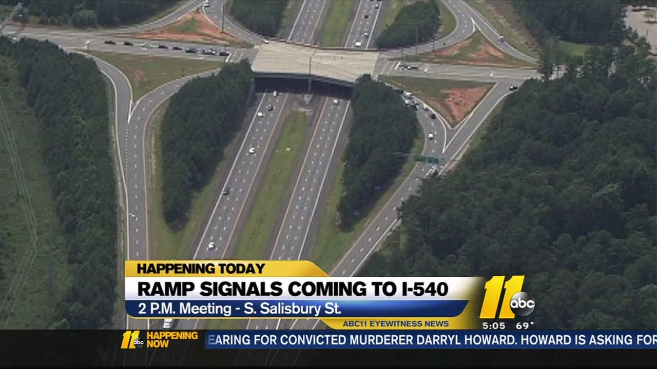 Ramp signals coming to I-540