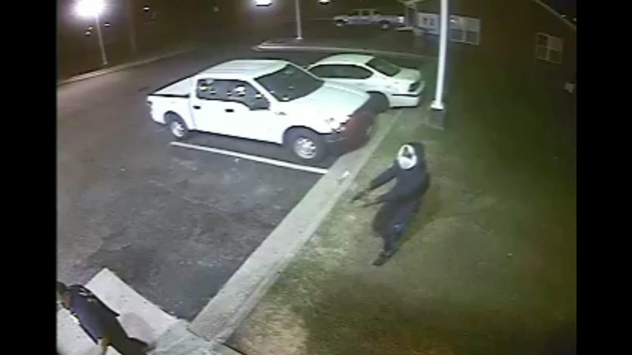 Video shows man robbed of truck at gunpoint in Fayetteville