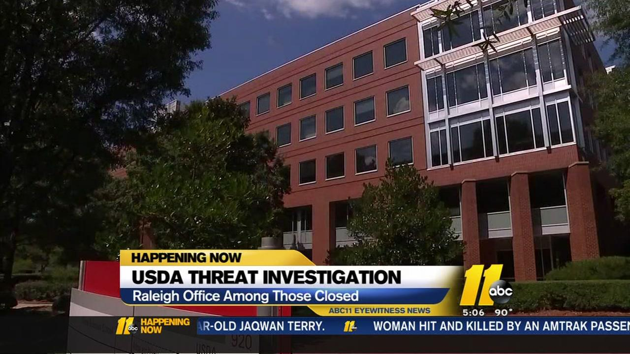 USDA offices close after threat