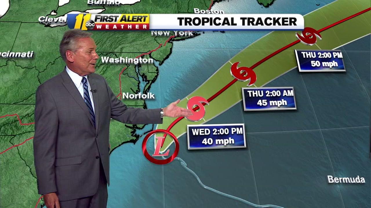 ABC11 tracking the tropical storms