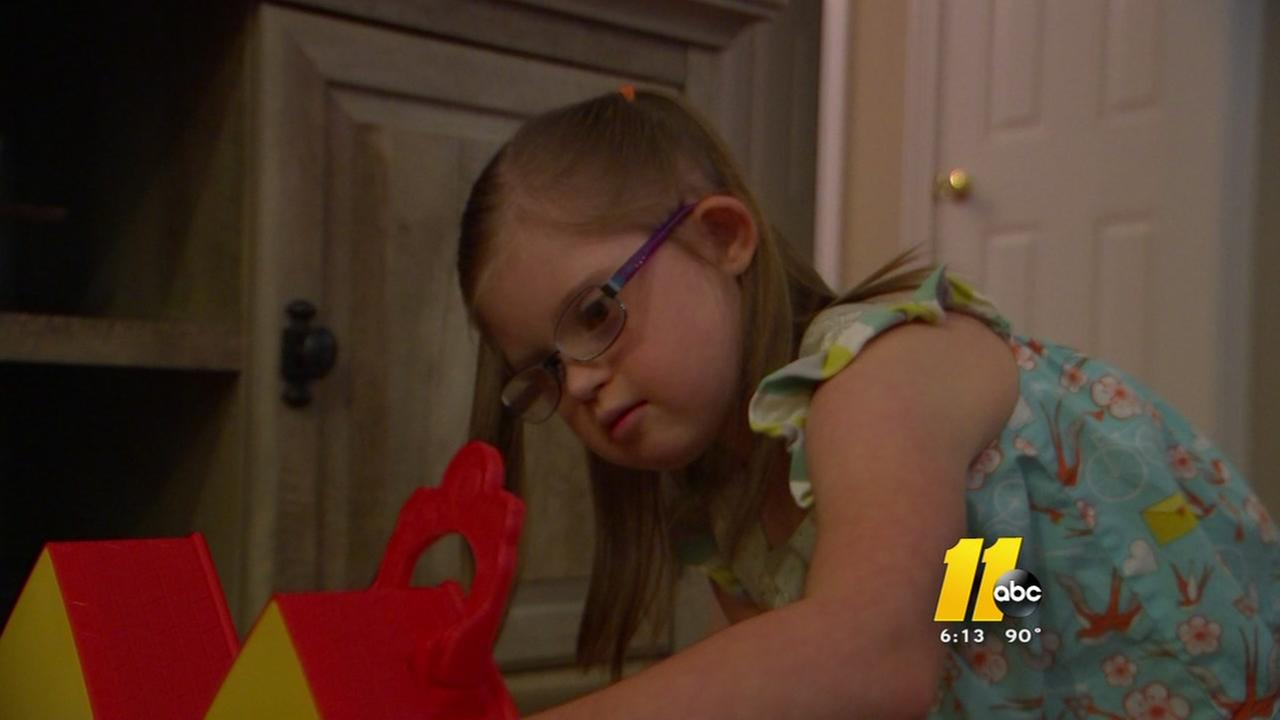 Mom of girl with Down syndrome takes action against WCPSS