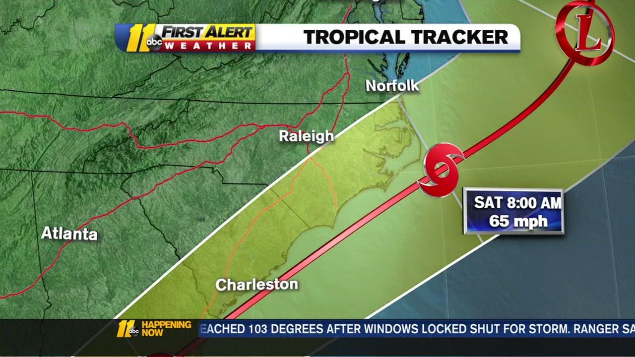 Tropical system could impact NC