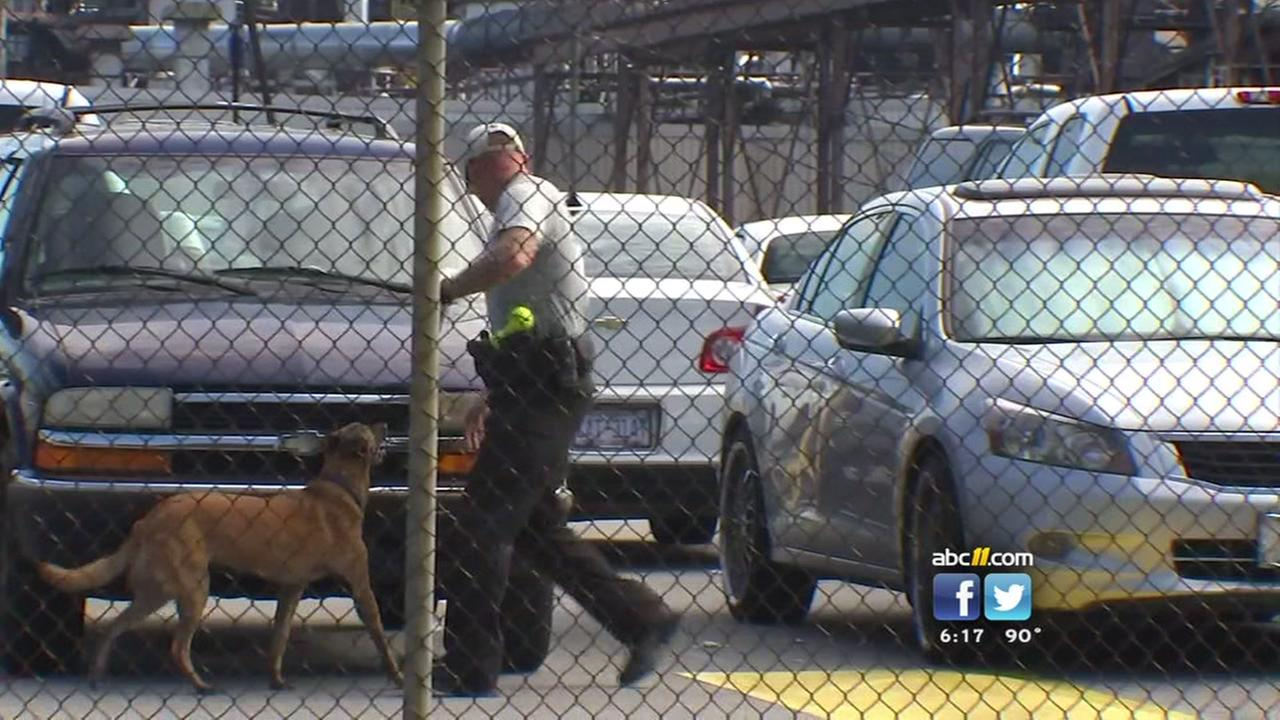 Drug sweep at Goodyear plant