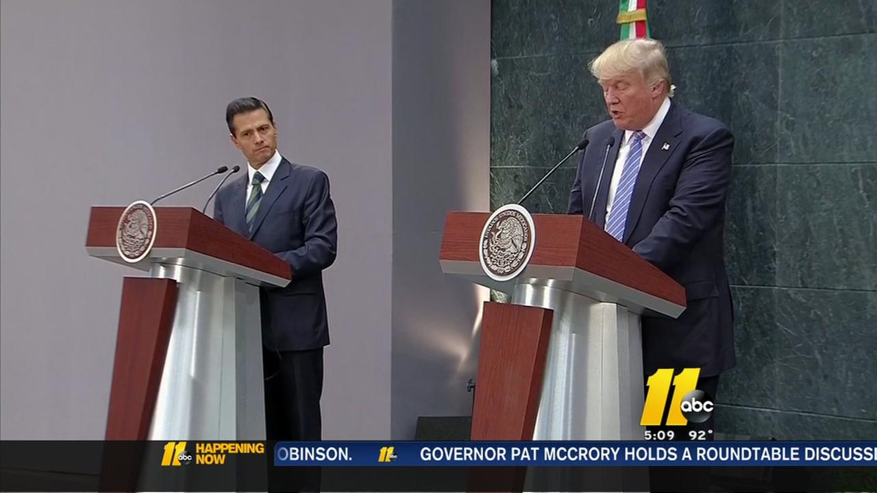 Trump speaks in Mexico
