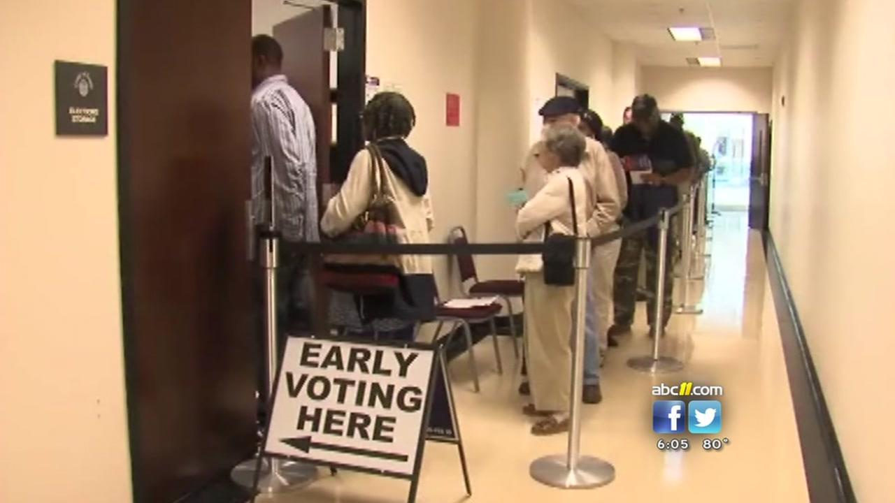 Early voting depends where you live