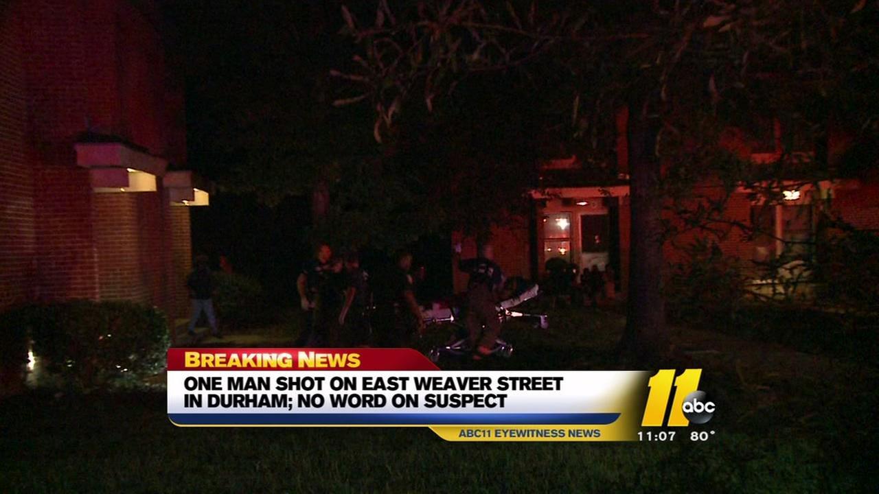 Man shot on Weaver Street in Durham