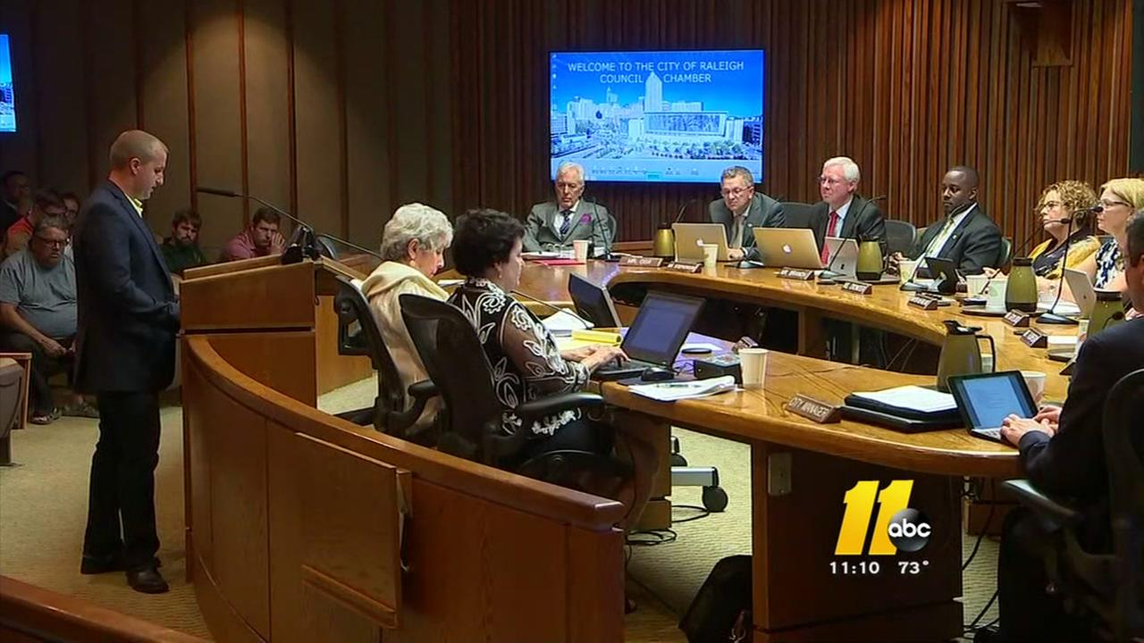 Firefighters make appeal before Raleigh city leaders on salary issue