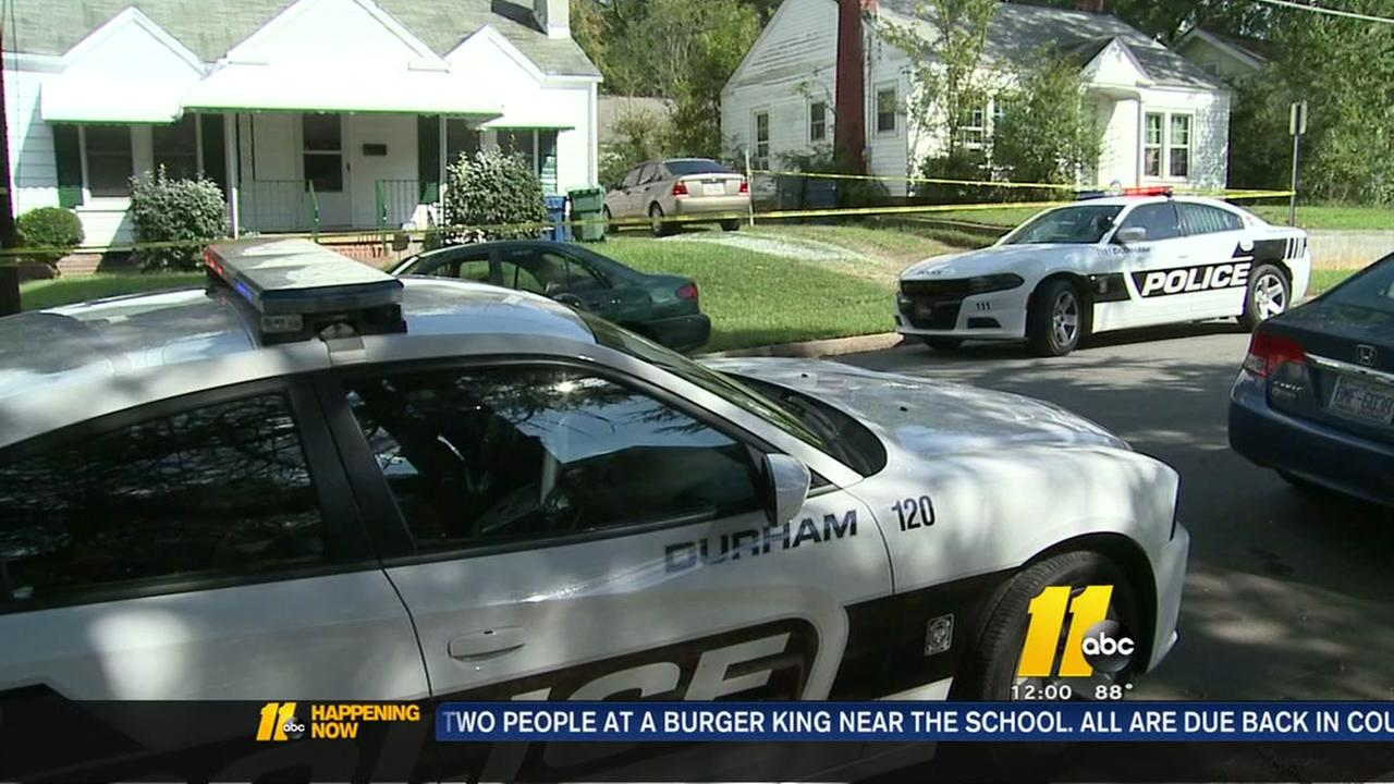 3 shot in Durham at 2 locations, manhunt continues