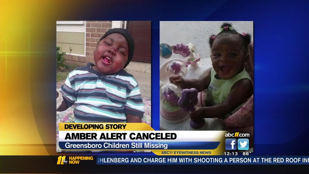 Greensboro Amber Alert cancelled