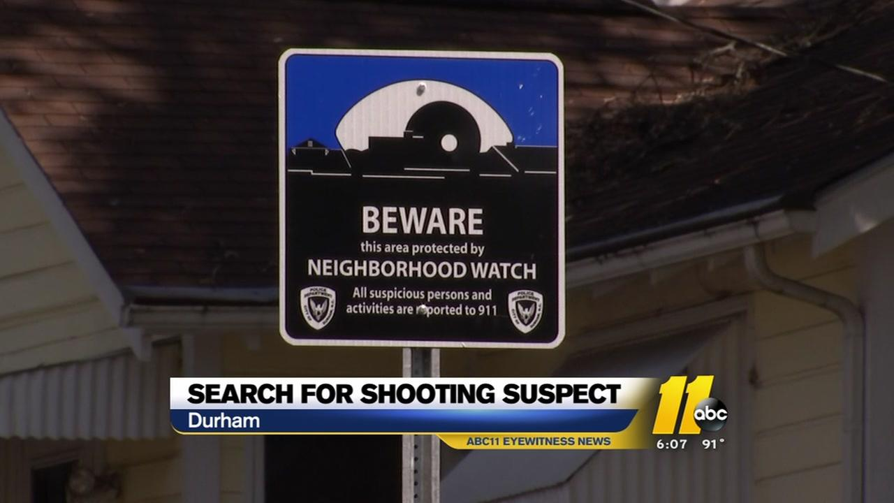 Search continues for Durham shooting suspect